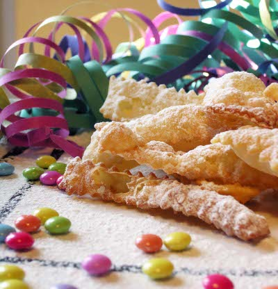 Chiacchiere dolci Carnevale